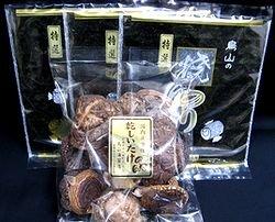 画像2: 仏事用「特選」焼海苔3帖と椎茸セット